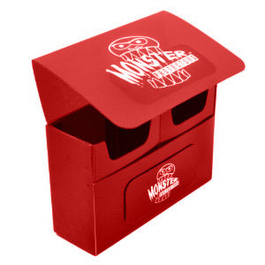 Monster Double Deck Box: Matte Red