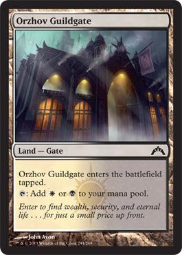 Orzhov Guildgate - Foil