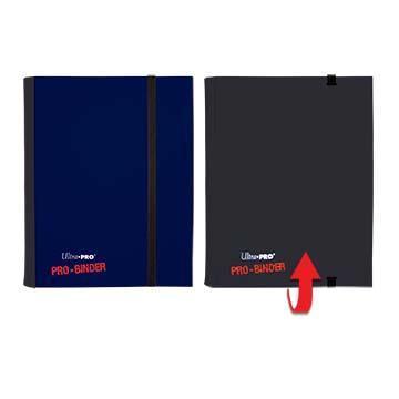 Ultra Pro 4-Pocket Flip Pro Binder - Blue & Black