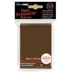 Ultra Pro - Brown Standard Deck Protectors - 50ct