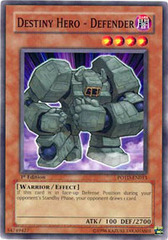 Destiny Hero - Defender - POTD-EN013 - Common - 1st Edition