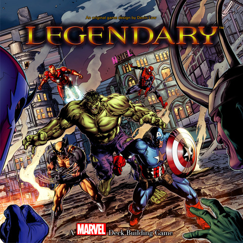Marvel Legendary: A Building Game