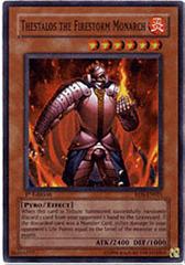 Thestalos the Firestorm Monarch - RDS-EN021 - Super Rare - 1st Edition on Channel Fireball