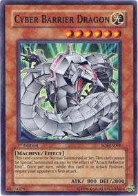 Cyber Barrier Dragon - SOI-EN006 - Super Rare - 1st Edition
