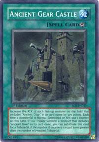 Ancient Gear Castle - SOI-EN047 - Super Rare - 1st Edition