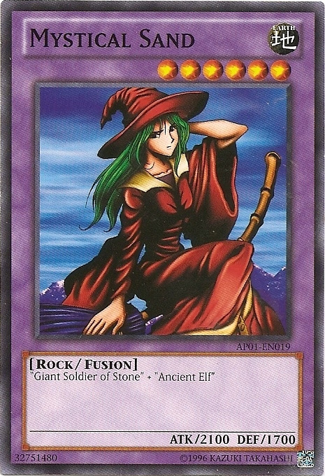 Mystical Sand - AP01-EN019 - Common - Unlimited Edition