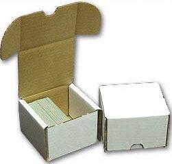 Cardboard Box 200 card