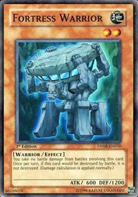 Fortress Warrior - DP08-EN010 - Super Rare - Unlimited Edition