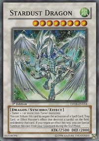 Stardust Dragon - DP08-EN014 - Super Rare - 1st Edition