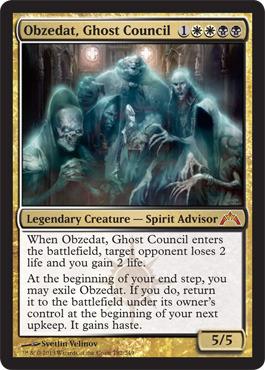 Obzedat, Ghost Council - Foil