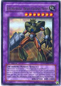 Elemental Hero Grand Neos - STON-EN035 - Ultra Rare - 1st Edition