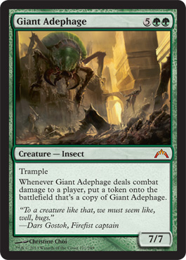 Giant Adephage - Foil