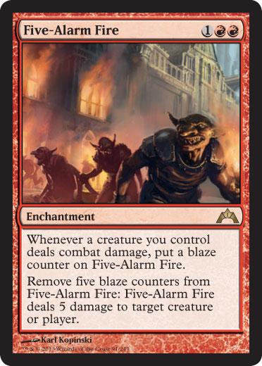 Five-Alarm Fire - Foil
