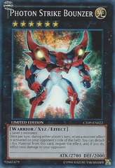 Photon Strike Bounzer - CT09-EN022 - Super Rare - Limited Edition on Channel Fireball