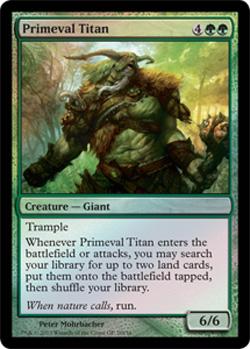Primeval Titan (Grand Prix Foil)