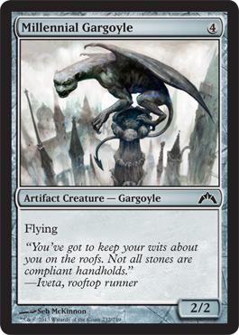Millennial Gargoyle