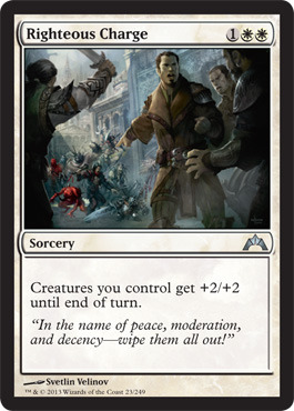 Righteous Charge - Foil