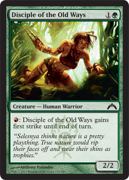 Disciple of the Old Ways - Foil