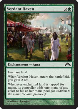 Verdant Haven - Foil
