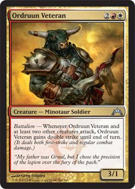 Ordruun Veteran - Foil