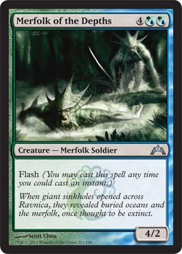 Merfolk of the Depths - Foil