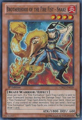 Brotherhood of the Fire Fist - Snake - CBLZ-EN026 - Super Rare