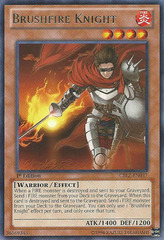 Brushfire Knight - CBLZ-EN037 - Rare - 1st Edition