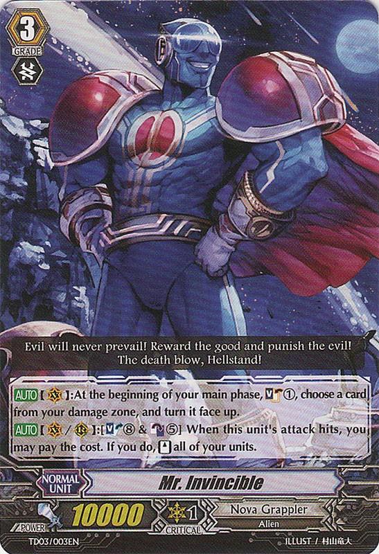 Mr. Invincible - TD03/003EN - TD