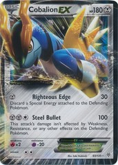 Cobalion-EX - 93/135 - Holo Rare EX on Channel Fireball