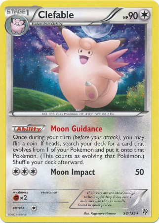 Clefable - 98/135 - Rare