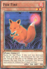 Fox Fire - SDOK-EN018 - Common - 1st Edition