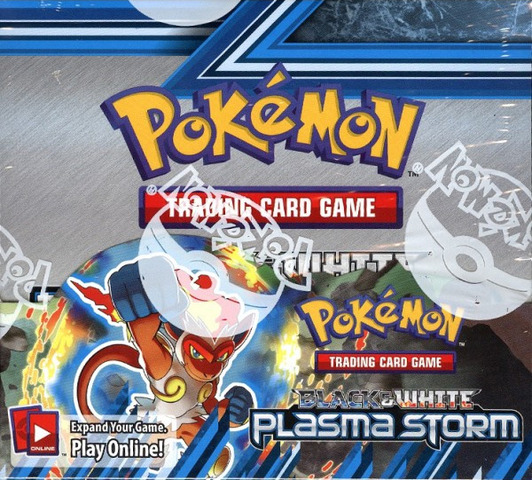 Pokemon Black & White BW8 Plasma Storm Booster Box