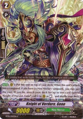 Knight of Verdure, Gene - BT05/043EN - C