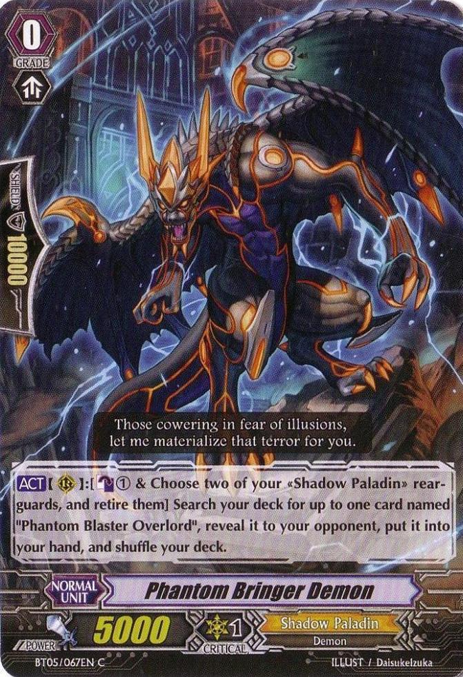 Phantom Bringer Demon - BT05/067EN - C