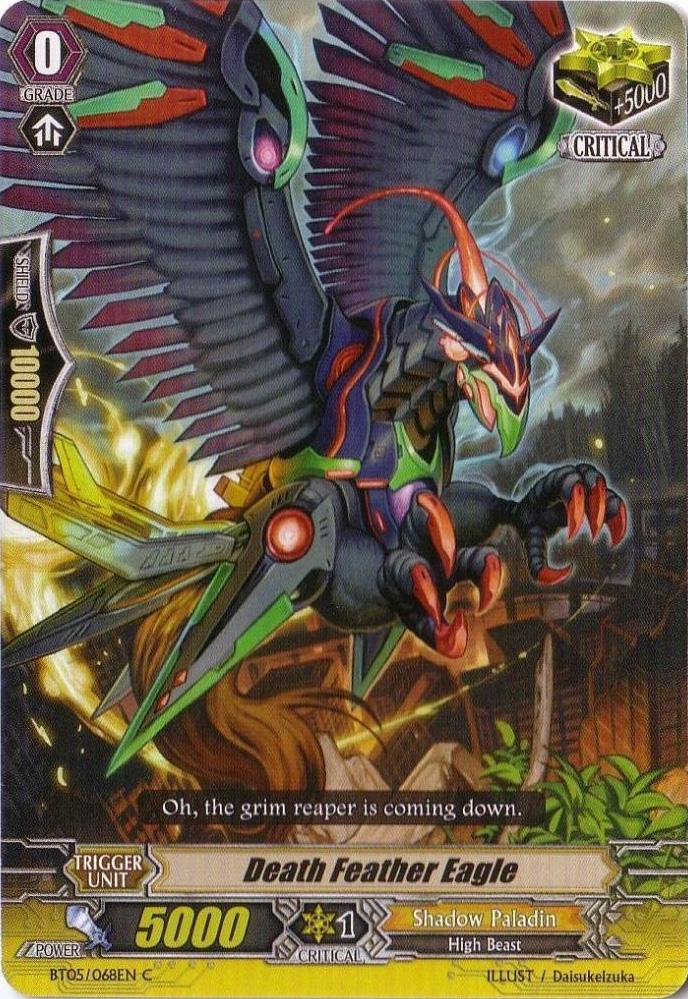Death Feather Eagle - BT05/068EN - C