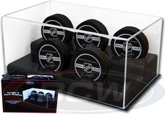 Deluxe Acrylic 5 Hockey Puck Display