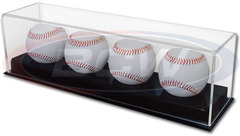 Deluxe Acrylic 4 Baseball Display