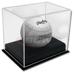 BCW Deluxe Acrylic Softball Display 1-AD25