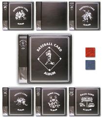 2 Inch Album - Baseball - Red