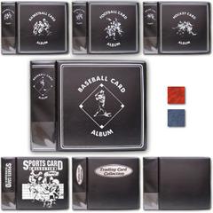 3 Inch Album - Baseball - Black