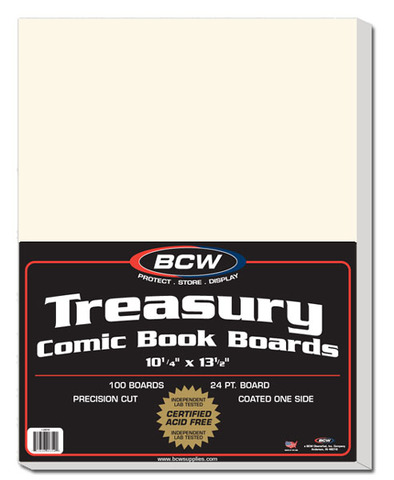 BCW Current Comic Backing Backer Boards Pack of 100 6 3//4 X 10 1//2 Acid Free