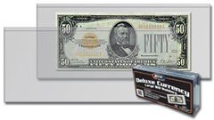 Deluxe Currency Holder - Large Bill