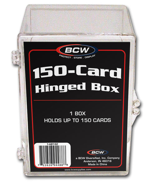BCW Hinged Box - 150 Count