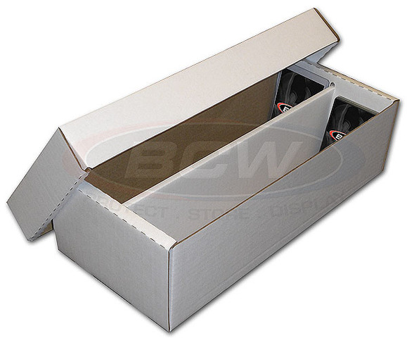 BCW Shoe Storage Box (1600 Ct.) 2-Row