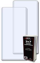 BCW 3 X 7 - Ticket Topload Holder - Pack of 25