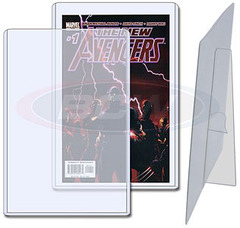 7.5 X 11 X 5 mm - Comic Book Topload Holder with Stand