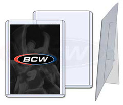 3 X 4 Topload Card Holder - Premium with Stand