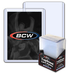 BCW 3 X 4 X 3.5 mm - Thick Card Topload Holder 138 Pt. - Pack of 10