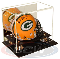 BCW Deluxe Acrylic Mini Helmet Display - With Mirror Back - 1-AD02