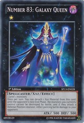 Number 83: Galaxy Queen - SP13-EN028 - Common - Unlimited Edition
